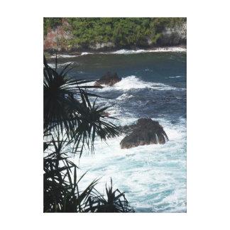 Pouco bocado do paraíso havaiano impressão em tela