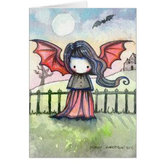 Pouco cartão do vampiro de Cutie