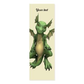 Pouco dragão cartão de visita skinny