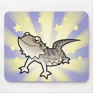 Pouco dragão farpado da estrela/dragão de Rankins Mouse Pad