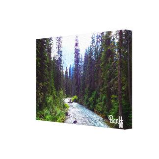Pouco impressão das canvas do rio