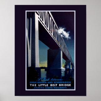 Pouco poster da ponte da correia