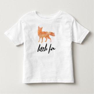 Pouco t-shirt da criança do Fox Camiseta Infantil