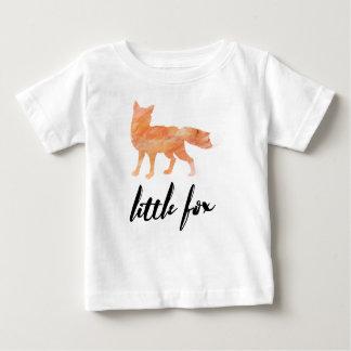 Pouco t-shirt do bebê do Fox Camiseta Para Bebê
