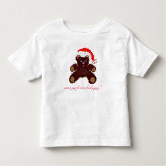 Pouco ursinho pronto para o Natal! Camiseta