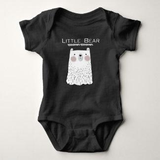 Poucos animais da floresta do urso body para bebê