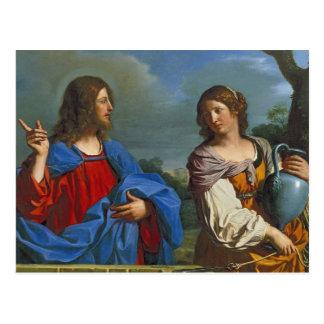 Pozo do EL do en de Samaritana do la de Jesus y Cartão Postal
