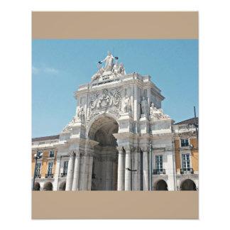 Praça faz o arco de Comércio Impressão De Foto
