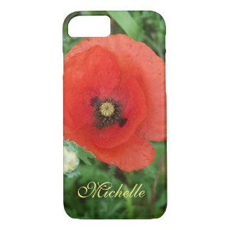 Prado Cornish personalizado do Wildflower da Capa iPhone 7