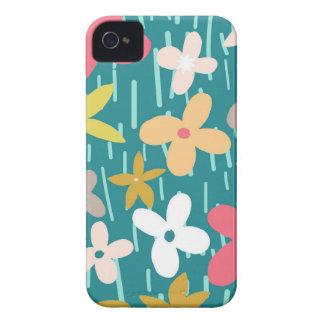 prado da flor do primavera capa para iPhone 4 Case-Mate