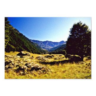 Prado, parque nacional de aspiração da montagem, convite 12.7 x 17.78cm