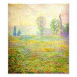 Prados de Monet em Giverny Artes De Fotos