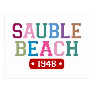 Praia 1948 de Sauble Cartão Postal