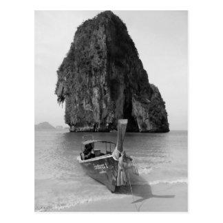 Praia 3 de B&W Krabi Cartão Postal