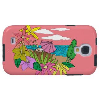Praia Capa Para Galaxy S4