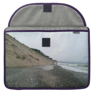Praia da ágata bolsa MacBook pro