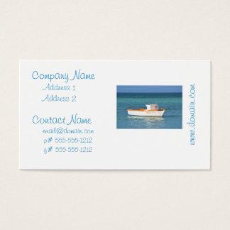 Praia da cabana do pescador cartão de visitas