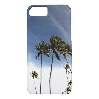 Praia das árvores de coco capa iPhone 7