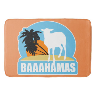Praia de Baaahamas Tapete De Banheiro