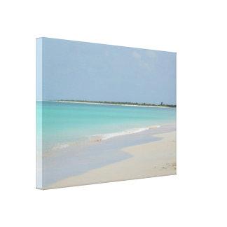 Praia de Barbuda Impressão Em Tela Canvas
