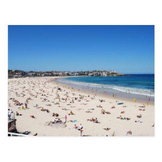 Praia de Bondi, Sydney, Austrália, cartão