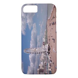 praia de Brigghton da capa de telefone do iPhone