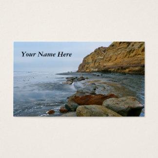 Praia de Califórnia Cartão De Visitas