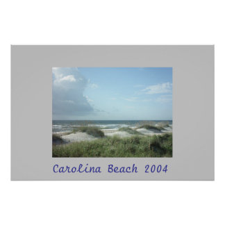 Praia de Carolina Pôster
