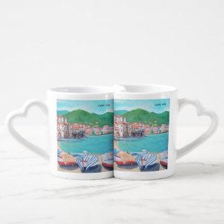 Praia de Cefalù - grupo da caneca do café