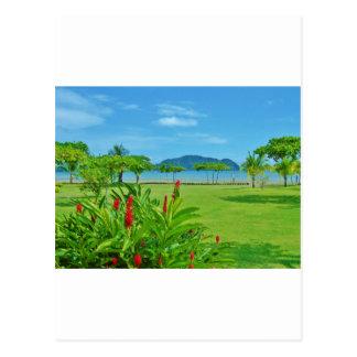 Praia de Costa Rica exterior Cartao Postal