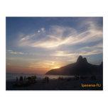Praia de Ipanema Cartão Postal