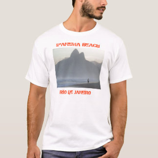 Praia de Ipanema - t-shirt de Rio de Janeiro Camiseta