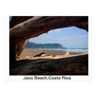 Praia de Jaco, Costa Rica Cartão Postal