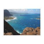 Praia de Makapuu Impressão De Canvas Envolvida