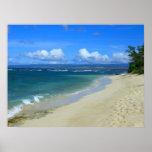 Praia de Mokuleia, Havaí Impressão