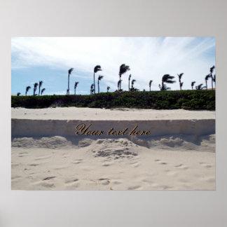 Praia de Nassau Pôster