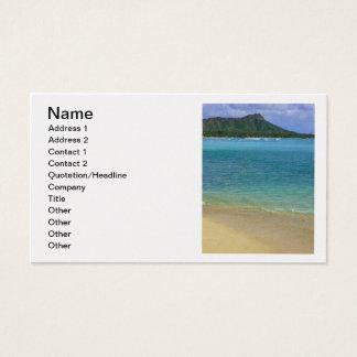 Praia de Waikiki Cartão De Visitas