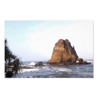 Praia de Watu Ulo Impressão De Foto