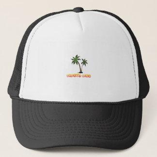 praia descalça Florida. Boné