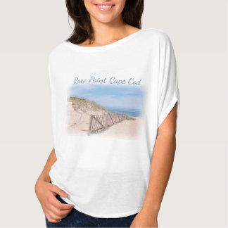 Praia do ponto da raça em Cape Cod Camiseta