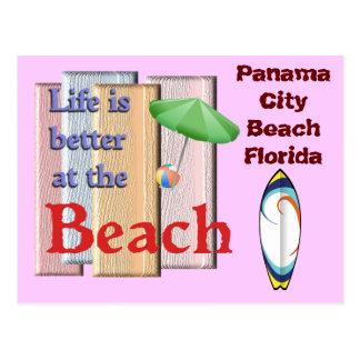 Praia Florida da Cidade do Panamá - cartão