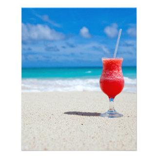 Praia Panfletos Personalizado
