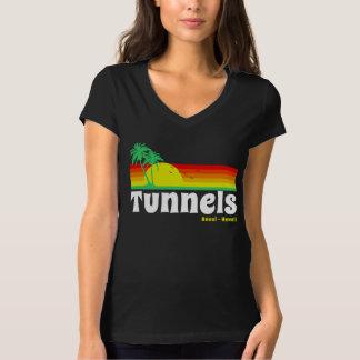 Praia Haena Kauai Havaí dos túneis T-shirt