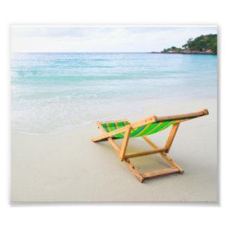 Praia Impressão De Foto
