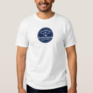 Praia náutica do cruzeiro da viagem da reunião de t-shirts