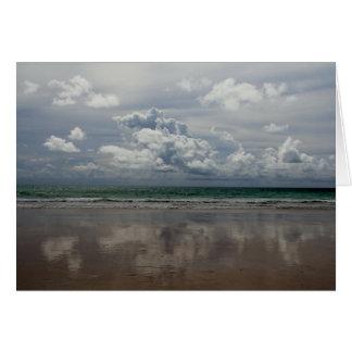 Praia no cartão de Austrália