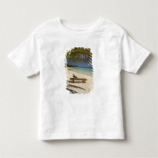 Praia, palmeiras & lounger t-shirt