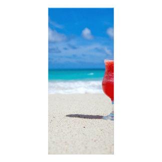 Praia Panfleto Personalizado