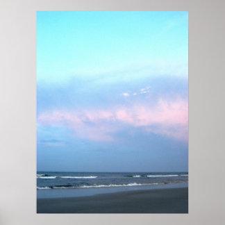 Praia Pôster
