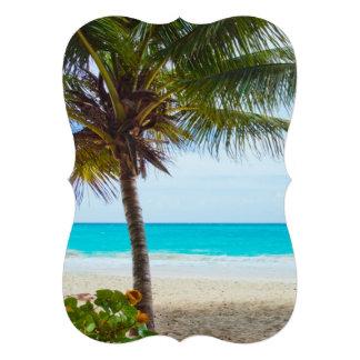 Praia tropical do paraíso